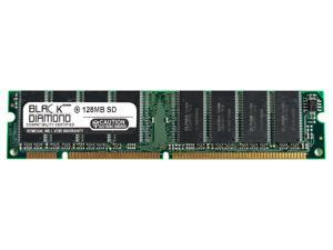 128MB RAM Memory for Packard Bell iDesign Series 6770 164pin PC133 SDRAM DIMM 133MHz Black Diamond Memory Module Upgrade