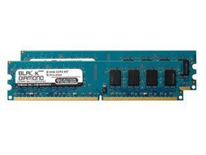 4GB 2X2GB RAM Memory for XFX NForce 680I SLI DDR2 DIMM 240pin PC2-5300 667MHz Black Diamond Memory Module Upgrade