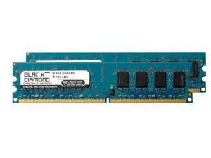 4GB 2X2GB RAM Memory for EVGA nForce Series 680i SLI DDR2 DIMM 240pin PC2-4200 533MHz Black Diamond Memory Module Upgrade
