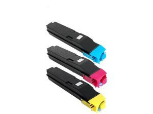 C//M//Y TK-8329CMY - Generic AIM Compatible Replacement for Copystar CS-2551ci Toner Cartridge Combo Pack
