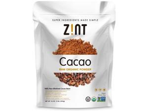 Zint Organic Cacao Powder (16 oz): Raw Non-Alkalized Chocolate With Powerful Antioxidants and Resveratrol