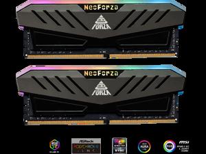 Neo Forza MARS 32GB (2x16GB) 288-Pin DDR4 3600 (PC4 28800) RGB SDRAM Desktop Memory Model NMGD416E82-3600DF20