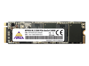 Neo Forza NFP035 2000MB/s M.2 2280 240GB PCIe 3.0 x4 with NVMe 1.3 3D NAND Internal Solid State Drive SSD NFP035PCI24-3400200