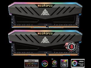 Neo Forza MARS 64GB (2x32GB) 288-Pin DDR4 3200 (PC4 25600) RGB SDRAM Desktop Memory Model NMGD432F82-3200DF20