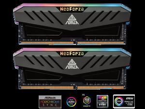Neo Forza MARS 16GB (2x8GB) 288-Pin DDR4 3000 (PC4 24000) RGB SDRAM Desktop Memory Model NMGD480E82-3000DF20