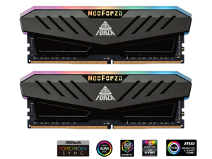 Neo Forza MARS 16GB (2x8GB) 288-Pin DDR4 4000 (PC4 32000) RGB SDRAM Desktop Memory Model NMGD480E82-4000FF20