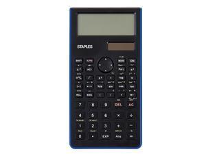 Staples Blue Scientific Calculator 240 Function 44699
