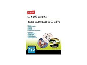 Staples CD/DVD Label Kit 499651