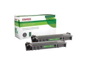 Staples Brother TN630 ufactured Black Toner Cartridges 2/Pack (TN630)