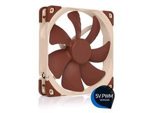 Noctua NF-A14 5V PWM, Premium Quiet Fan with USB Power Adaptor Cable, 4-Pin, 5V Version (140mm, Brown)