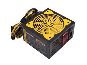 140-260V Max 550W Power Supply Computer Pc Cpu 12V 20+4Pin 120Mm Silent Fan Pcie-E Sata Power Adapter For Intel Amd Computer U