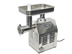 KWS TC-22 Commercial 1200W 1.5HP Electric Meat Grinder Stainless Steel Meat Grinder For Restaurant/Deli/ Home
