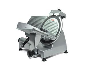"""KWS Premium Commercial 420w Electric Meat Slicer 12"""" Non-sticky Teflon Blade, Frozen Meat/ Cheese/ Food Slicer Low Noises"""