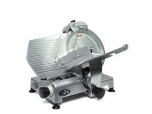 """KWS Premium Commercial 420w Electric Meat Slicer 12"""" Stainless Steel Blade, Frozen Meat/ Cheese/ Food Slicer Low Noises"""