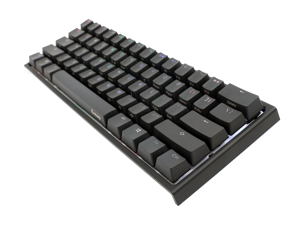 Ducky One 2 Mini v2 RGB LED 60% Double Shot PBT (Kailh BOX Brown) Mechanical Keyboard