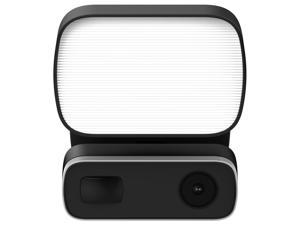 IMGadgets Outdoor Smart Floodlight App-Enabled Security Camera with Two-Way Audio