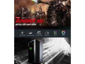 MSI GUNGNIR 100 Intel 8-Core i7-10700K 3.8GHz - Z490 Chipset - 2TB 7200RPM + 1TB SSD - 32GB DDR4 3000MHz - Nvidia GeForce RTX 2070 SUPER 8GB GDDR6 - 850W  - Windows 10 Gaming Desktop