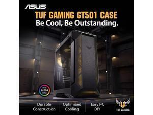 ASUS GT501 TUF LIQUID COOLED RGB Intel 10-Core i9-10900K 3.7GHz - Nvidia GeForce RTX 3070 8GB GDDR6 - Z590 Chipset - 2TB 7200RPM + 1TB SSD - 64GB DDR4 3000MHz - 850W - Windows 10 Gaming Desktop