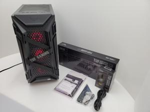 ASUS GT301 TUF LIQUID COOLED ARGB Intel 10-Core i9-10900K 3.7GHz - Nvidia GeForce RTX 3070 8GB GDDR6 - Z590 Chipset - 2TB 7200RPM + 1TB SSD - 64GB DDR4 3000MHz - 850W - Windows 10 Gaming Desktop