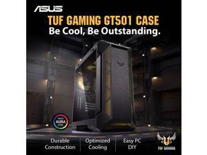 ASUS GT501 TUF Intel 8-Core i9-9900K 3.6GHz - Z390 TUF Chipset - 2TB 7200RPM + 1TB SSD - 64GB TUF DDR4 3000 - Nvidia GeForce RTX 2080 8GB GDDR6 - 700W TUF - Windows 10 Gaming Desktop