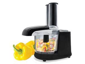Hauz AFP981 - Mini 1.5-Cup Food Processor with Stainless Steel Blade