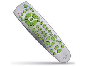 Elink URC-386 - Universal 9-in-1 Remote Control for TV, DVD, Cable and Others, Gray