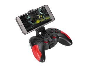 Xtrike Me GP-45 - Wireless Gamepad with Integrated Battery, Bluetooth or Wired, For Android and PC, Black