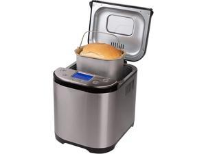 Frigidaire - Automatic Bread Maker, 2Lbs Capacity, Stainless Steel Case