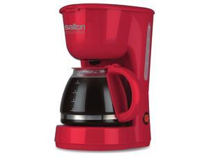 Salton Essentials Coffee Maker 5 Cup 750Ml Red