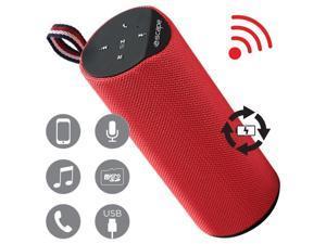 Escape SPBT707 Bluetooth Speaker FM Micro SD Red