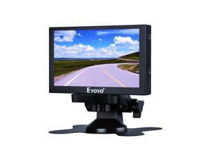 "Eyoyo 5"" Mini HDMI Monitor 800x480 Car Rear View TFT LCD Screen Display with BNC/VGA/AV/HDMI Input"
