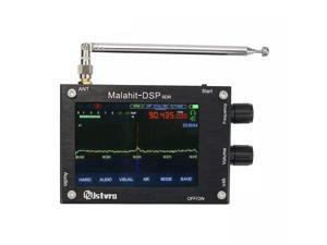 "50Khz-2GHz with Register code DFU Malachite SDR Radio Malahit DSP SDR Receiver + 3.5"" LCD + Battery + Speaker + Metal Case"