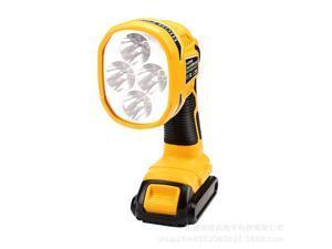 Portable 4 Work Modes 12W 18V LED Lamp Work Light Flashlight Lithium Battery USB (NO Battery NO Charger) Outdoor Lighting For Dewalt 18V/14.4V