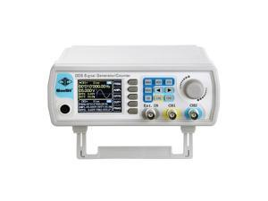Professional Upgraded DDS Signal Generator Counter,Seesii 60MHz LCD Display High Precision 200MSa/s Dual-Channel Arbitray Waveform Function Generator Frequency Meter
