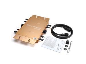 WVC-1200W 110V Micro Inverter Micro Grid Inverter Line Filter Frequency Solar Inverter Waterproof Golden MPPT