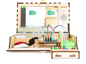 The Piper Computer Kit 2 is the ultimate D.I.Y. computer-building experience, for ages 7-13. Build a REAL computer from start to finish while playing a Minecraft: Pi Edition to learn coding.