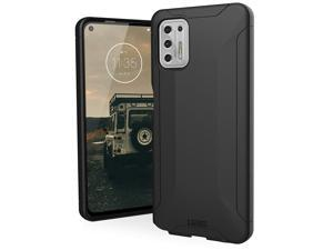 UAG Designed for Moto G Stylus (2021) Case (Compatible with North American Model Only) Scout Rugged Sleek Shockproof Lightweight Military Drop Tested Protective Cover, Black