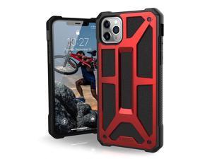 UAG Designed for iPhone 11 Pro Max [6.5-inch screen] Monarch [Crimson] Case