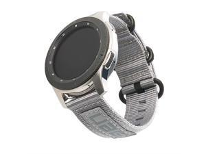 UAG Samsung Galaxy Watch Band 42mm/Active 1 & 2/Gear Sport, fits 20mm Lugs, Nato Grey