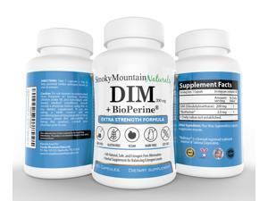DIM (Diindolylmethane) / Extra Strength- 200mg with BioPerine (2 Month Supply). Promotes Beneficial Estrogen Metabolism in Both Men and Women.