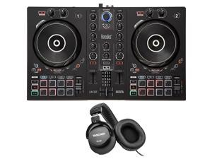 Hercules DJControl Inpulse 300 2-Channel DJ Controller for DJUCED + Headphones