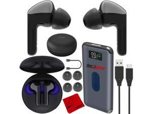 LG TONE Free HBS-FN6 True Wireless Bluetooth Earbuds w/ UVnano Charging Case Bundle