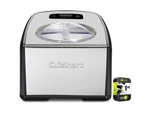 Cuisinart Compressor Ice Cream and Gelato Maker with Extended Warranty