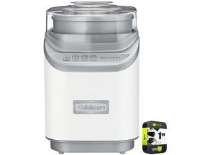 Cuisinart Cool Creations Ice Cream Maker White with Extended Warranty