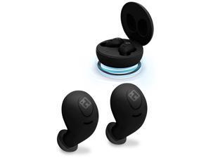 Bytech iHome XT-59 True Wireless Earbuds, Black HM-AU-BE-200-BK