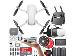 DJI Mavic Mini Quadcopter Drone Fly More Combo Renewed with Headset Bundle
