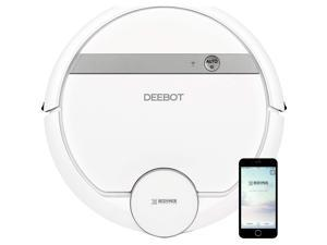 ECOVACS DEEBOT 907 Robot Vacuum Cleaner for Carpet, Floors, and Pet Hair,
