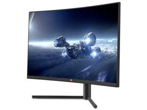 Deco Gear DGVM27AB 27-Inch 2560x1440 Color Accurate Curved Gaming Monitor, VA Panel, 16:9 Aspect Ratio, 3000:1 Contrast Ratio, 99% sRGB, 85% NTSC, 90% DCI-P3, 83% Adobe RGB, 144Hz Refresh Rate