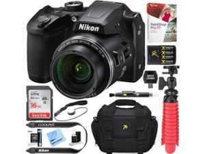 Nikon COOLPIX B500 16MP 40x Optical Zoom Digital Camera -  + 16GB Bundle