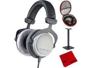 BeyerDynamic DT-880 Pro Headphones 250 Ohm + Headphone Case Bundle